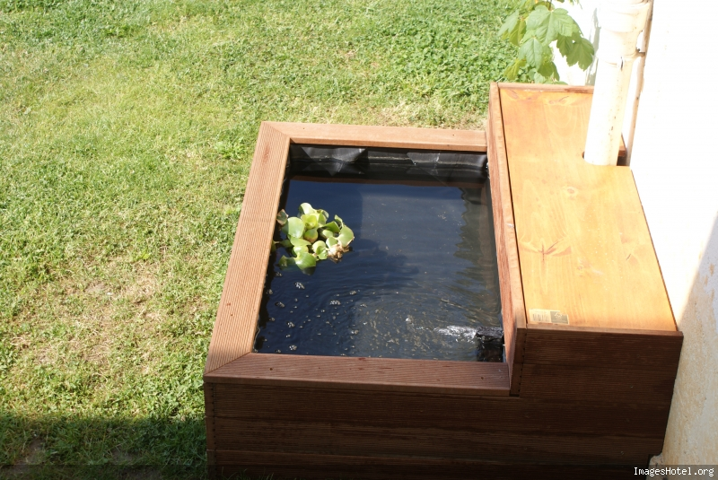 bassin de jardin hors sol en bois stunning excellent bassin poisson hors sol tours bain. Black Bedroom Furniture Sets. Home Design Ideas