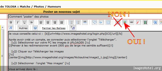 "Comment ""poster"" des photos Image7"