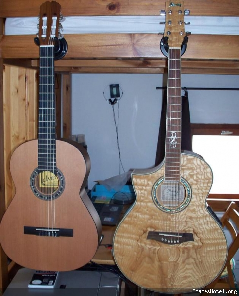 Accrocher Sa Guitare Sur Un Mur Matériel Forum Guitare TA - Porte guitare mural