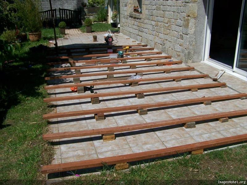 Construction D Une Terrasse En Ipe Arrondie Fc Terrassebois Pictures