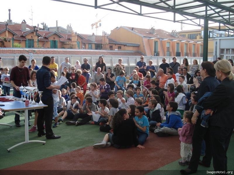 Remise des prix du premier Challenge des écoles de Nice en Mai 2013