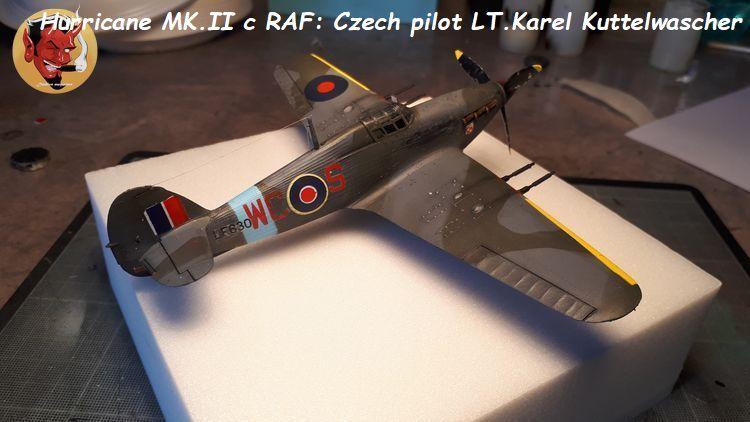[mister Craft]Hawker Hurricane MK.IIC Czech LT Karel Kuttelwasher 20190708144721