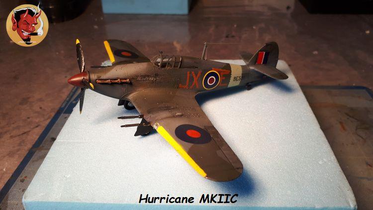 [mister Craft]Hawker Hurricane MK.IIC Czech LT Karel Kuttelwasher 20190805133927
