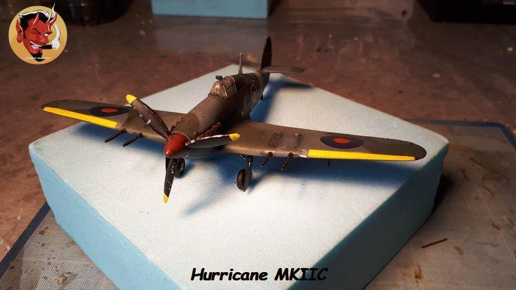 [mister Craft]Hawker Hurricane MK.IIC Czech LT Karel Kuttelwasher 20190805133944