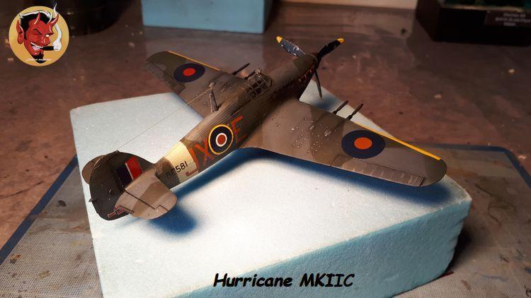 [mister Craft]Hawker Hurricane MK.IIC Czech LT Karel Kuttelwasher 20190805134031