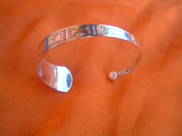 Image bracelettouaregafricainenargentmassifref20033