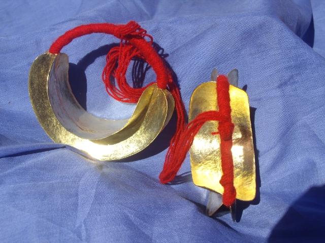 oreillesafricainespeuhlpeulfilrougefulaniafricanearringsmali43093