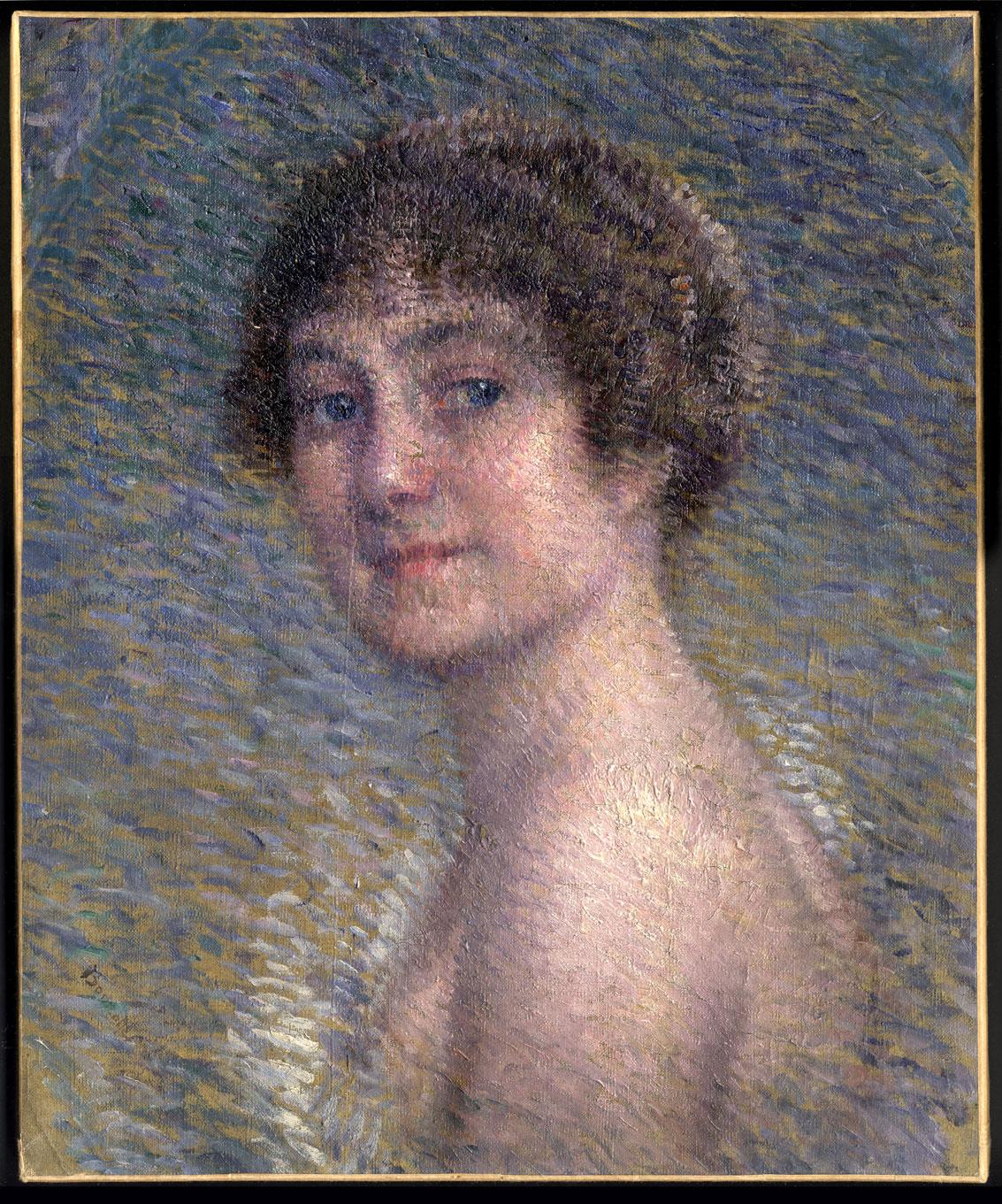 Eugene Damblans Vache Eragny Auvers sur Oise Berthe Morisot Manzana Pissarro