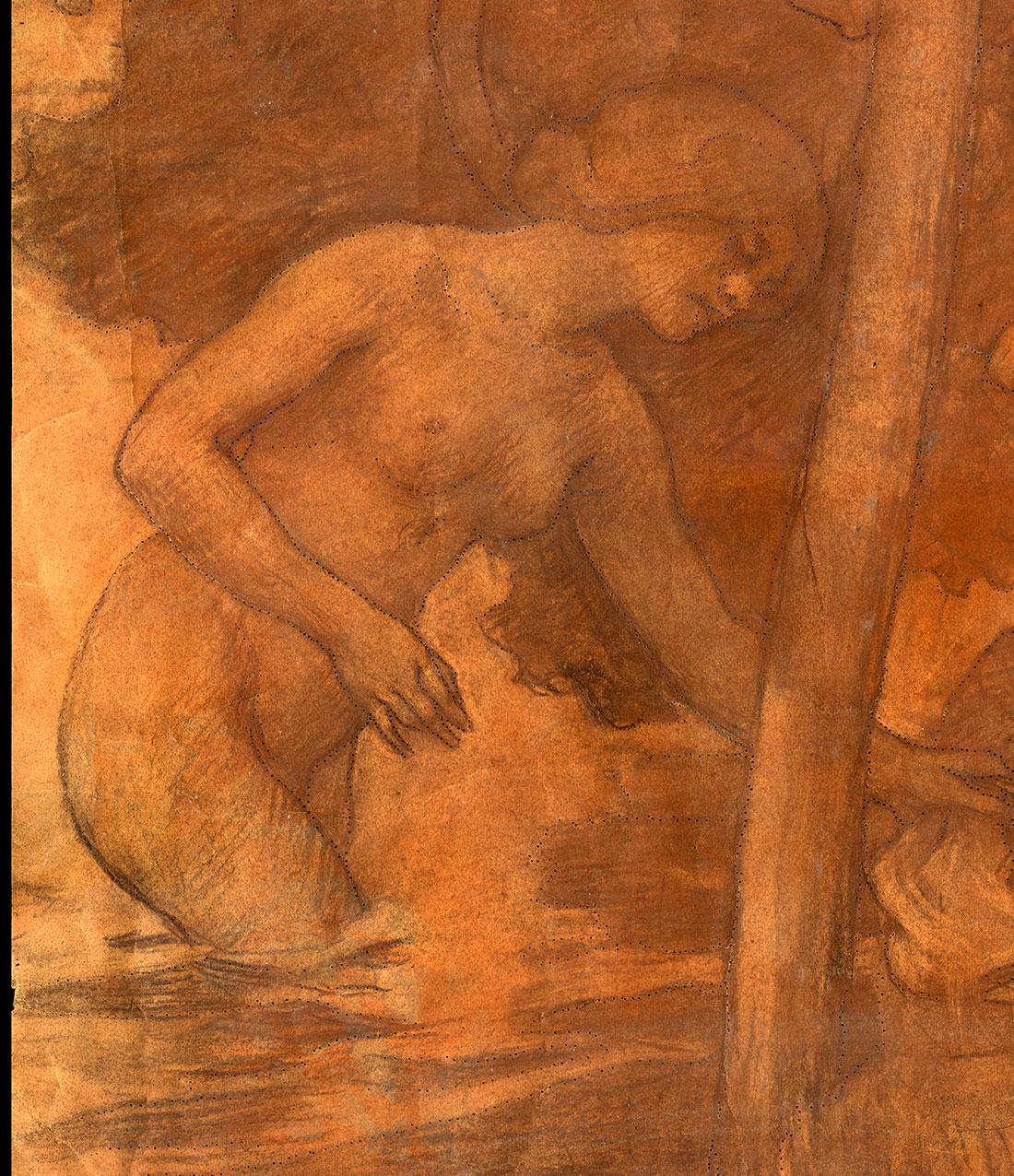 Henri Lerolle Attelage Paysanne Basque Symboliste Chabas Seon Nabis Degas Manet Morisot