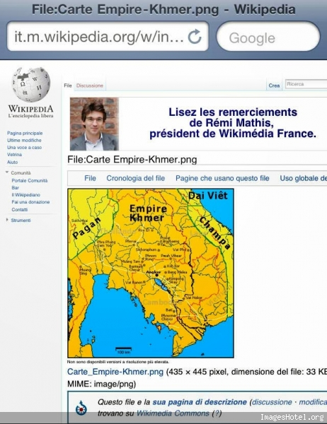 Khmer Empire Map Map of The Khmer Empire