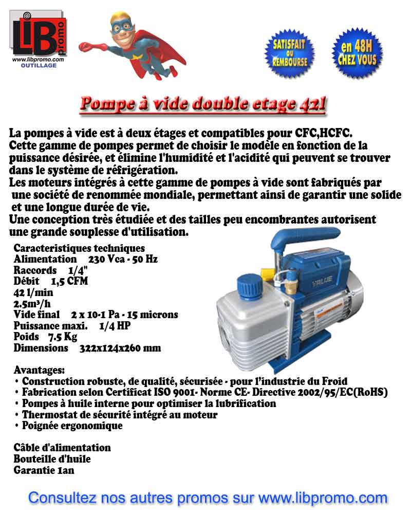 Relais 5v DC / 230V AC Pompe42l