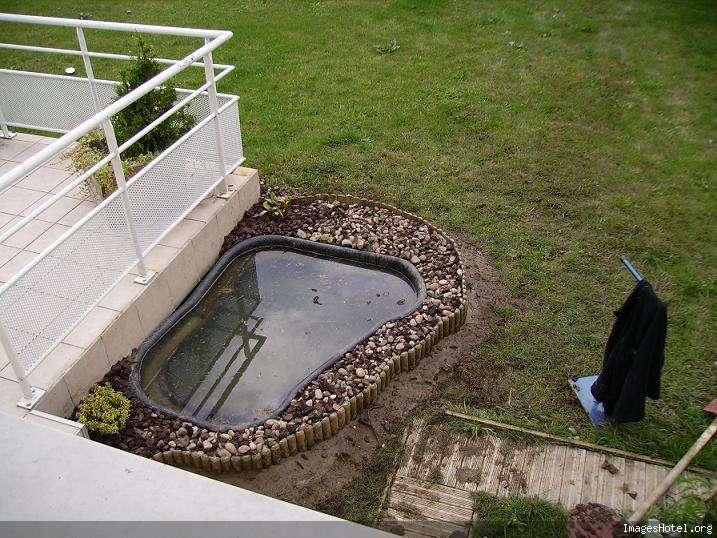 Ubbink  Bassin Jardin Lobelia Sii Préformé 500 L  pas cher Achat / Vente