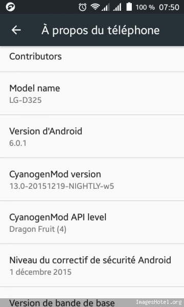 Android marshallow cyanogenmod 13 ����� lg l70 d325-320-ms323