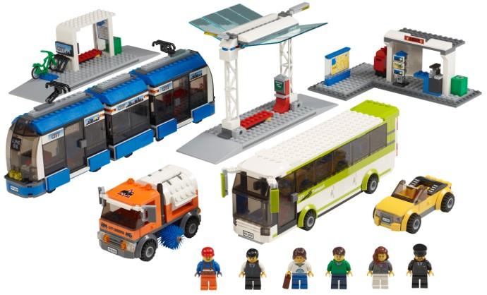 VUE D'ENSEMBLE LEGO 8404